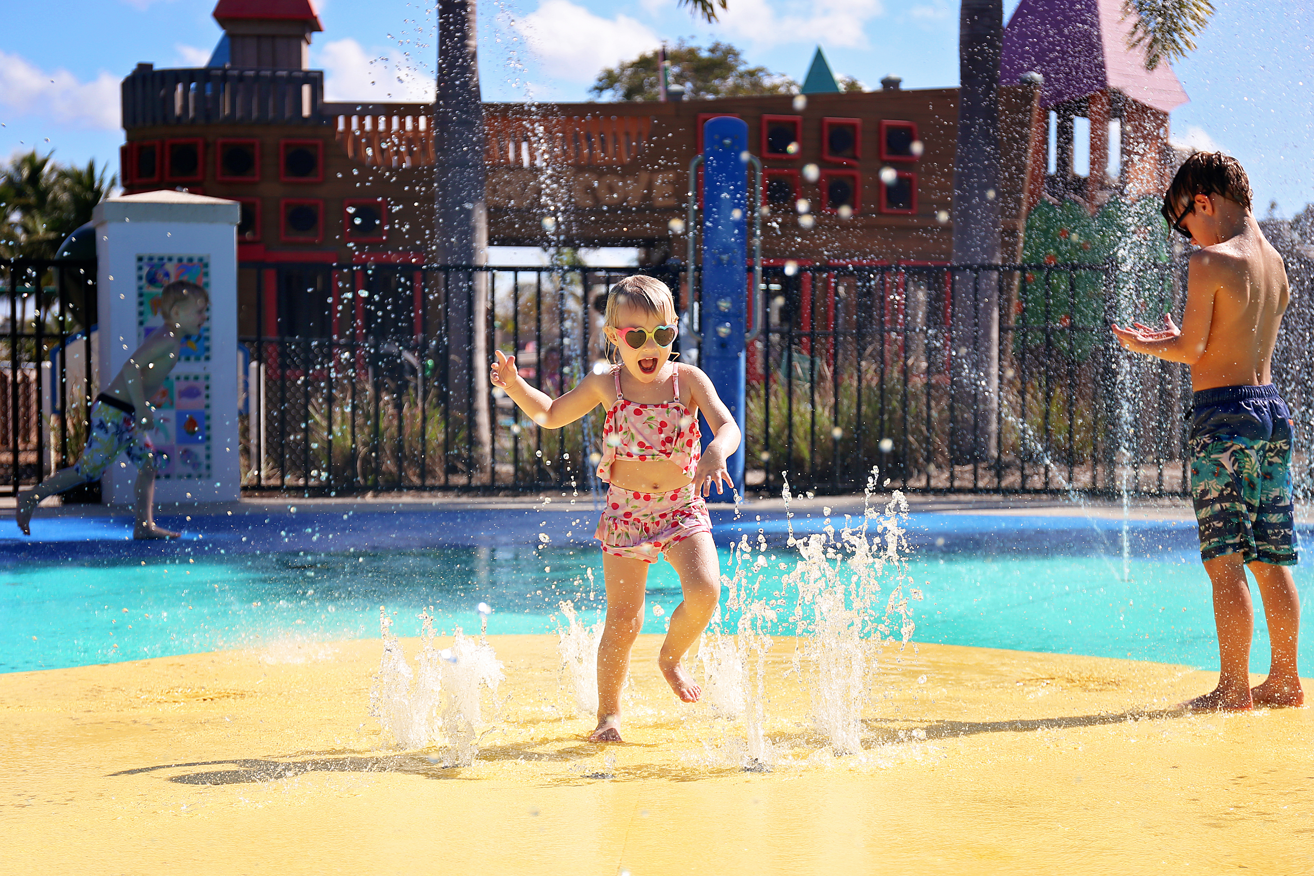 Public swimming pools, wading pools, spas, and splash pads