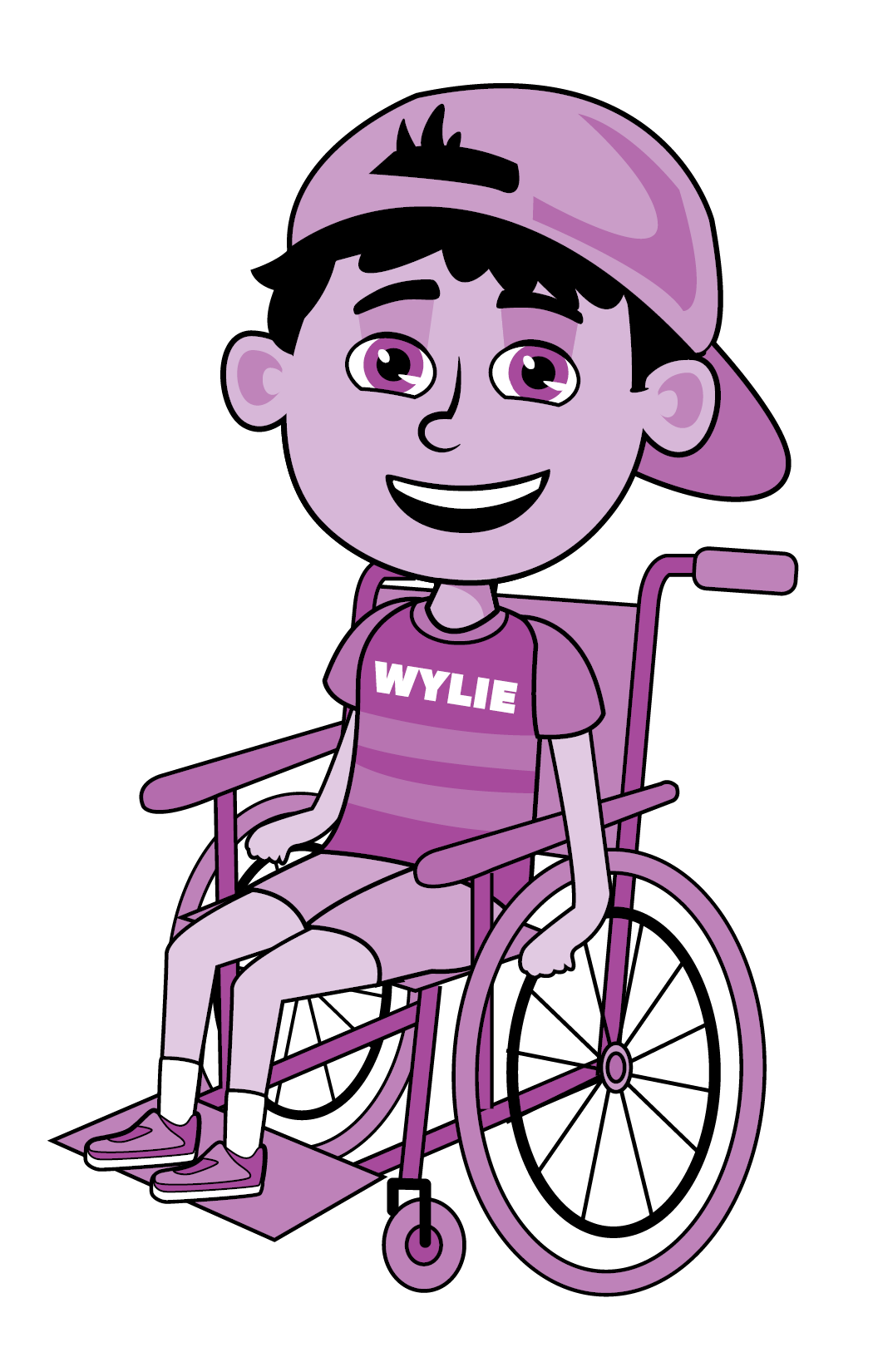 Wylie_Summer_Wheelchair_Left