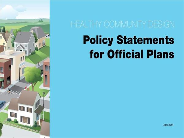 policy statement official plan