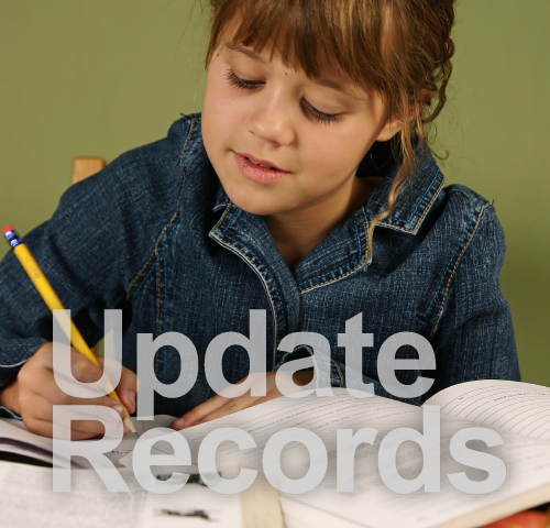 child writes-update records