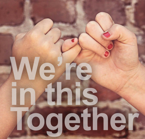 hands - were in this together