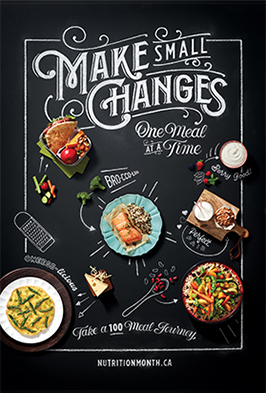 Make small changes, one meal at a time