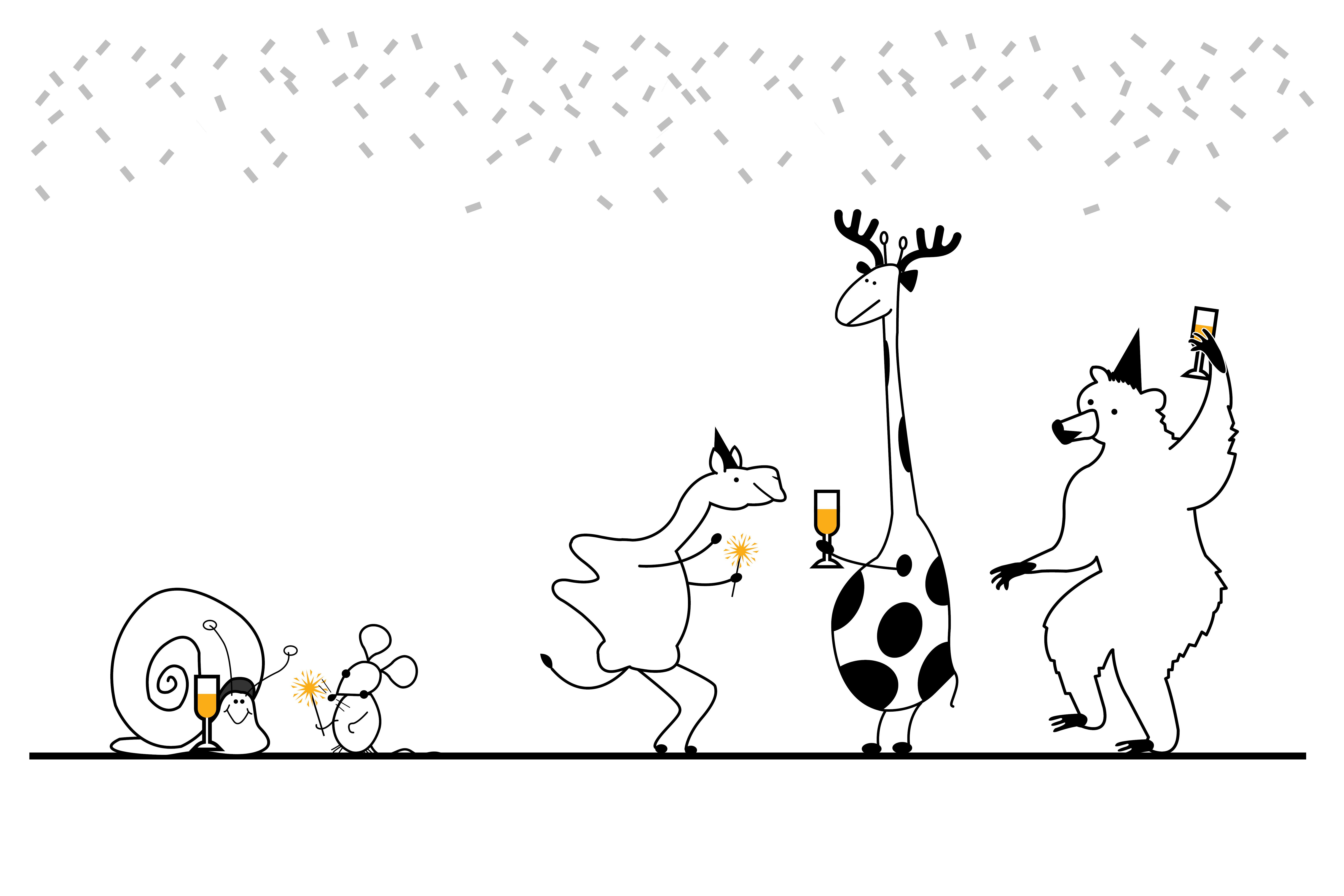 giraffe dancing