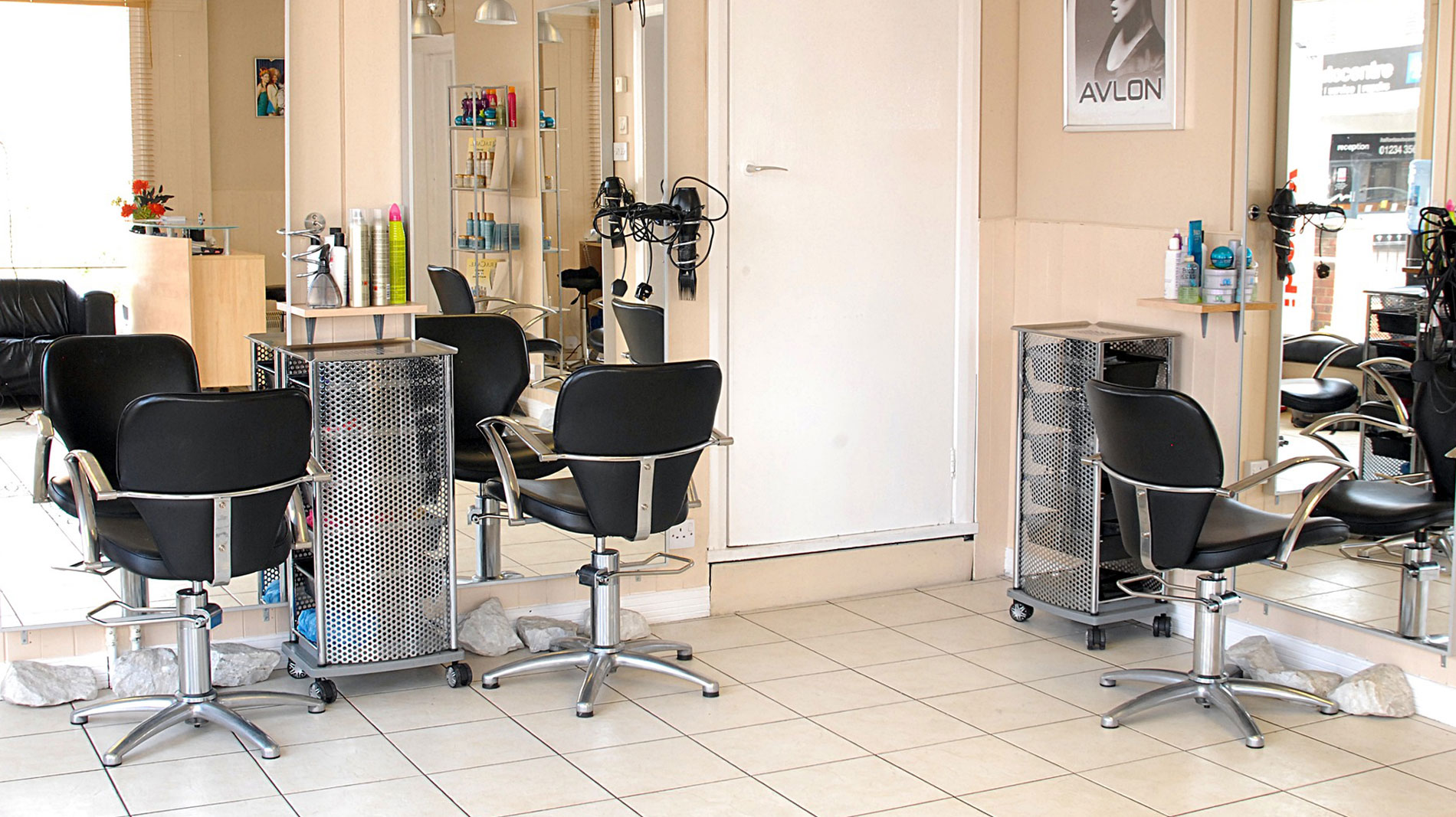 Photo of beauty salon